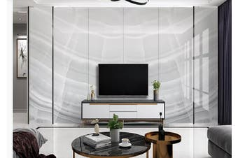 3D Marble Decorative Beautiful Floral Wall Mural Wallpaper  D59 Self-adhesive Laminated Vinyl-W: 525cm X H: 295cm