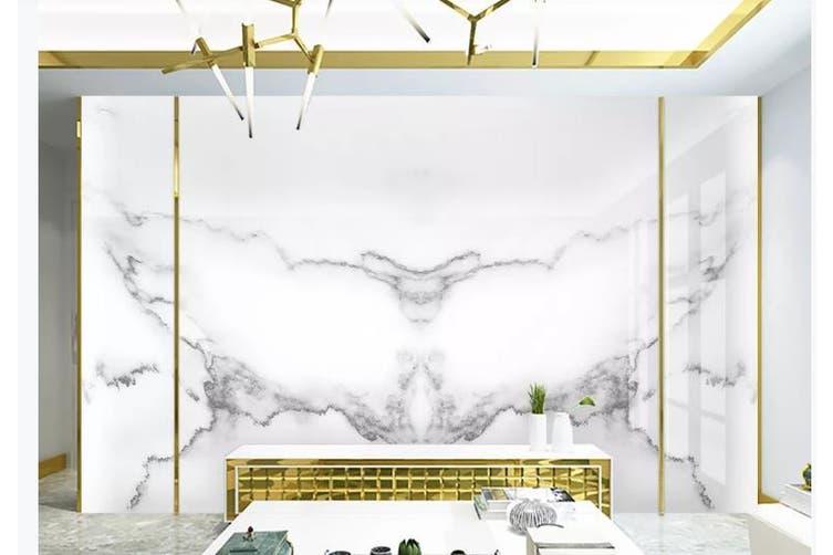 3D Marble Decorative Beautiful Floral Wall Mural Wallpaper  D54 Self-adhesive Laminated Vinyl-W: 210cm X H: 146cm