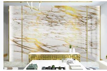 3D Marble Decorative Beautiful Floral Wall Mural Wallpaper  D50 Self-adhesive Laminated Vinyl-W: 525cm X H: 295cm