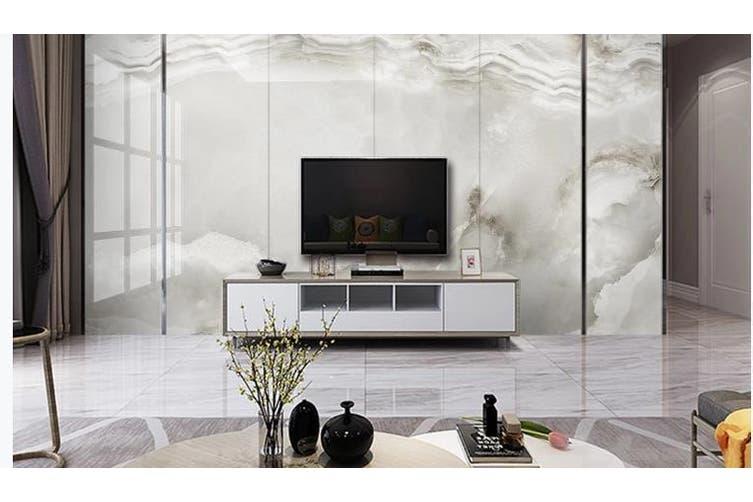 3D Marble Decorative Beautiful Floral Wall Mural Wallpaper  D48 Self-adhesive Laminated Vinyl-W: 210cm X H: 146cm