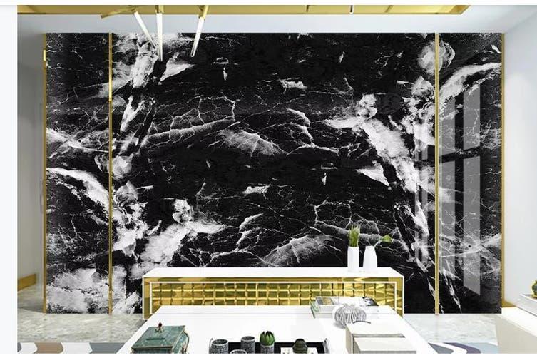 3D Marble Decorative Beautiful Floral Wall Mural Wallpaper  D47 Self-adhesive Laminated Vinyl-W: 320cm X H: 225cm