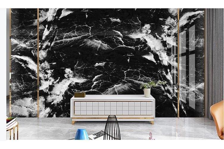 3D Marble Decorative Beautiful Floral Wall Mural Wallpaper  D47 Self-adhesive Laminated Vinyl-W: 420cm X H: 260cm