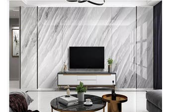 3D Marble Decorative Beautiful Floral Wall Mural Wallpaper  D46 Self-adhesive Laminated Vinyl-W: 210cm X H: 146cm