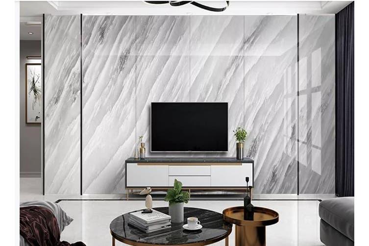 3D Marble Decorative Beautiful Floral Wall Mural Wallpaper  D46 Self-adhesive Laminated Vinyl-W: 420cm X H: 260cm