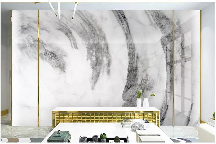 3D Chinese New Style Ink Landscape Wall Mural Wallpaper  D6 Self-adhesive Laminated Vinyl-W: 320cm X H: 225cm
