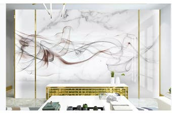 3D Chinese New Style Ink Lines Wall Mural Wallpaper  D5 Self-adhesive Laminated Vinyl-W: 320cm X H: 225cm