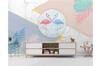 3D Flamingo Leaves Marble Wall Mural Wallpaper 57 Self-adhesive Laminated Vinyl-W: 420cm X H: 260cm