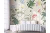 3D Flower Leaves Wall Mural Wallpaper 47 Self-adhesive Laminated Vinyl-W: 320cm X H: 225cm