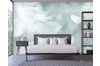 3D Green White Feather Wall Mural Wallpaper 44 Self-adhesive Laminated Vinyl-W: 525cm X H: 295cm