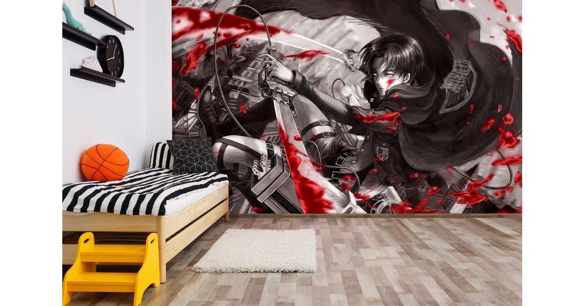 Dick Smith 3d Anime Attack On Titan Wall Mural Wallpaper Premium Non Woven Paper W 525cm X H 295cm Wallpaper Murals Wallpaper