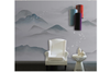 3D abstract mountain landscape wall mural Wallpaper 185 Premium Non-Woven Paper-W: 525cm X H: 295cm
