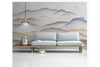 3D abstract mountain landscape wall mural Wallpaper 181 Premium Non-Woven Paper-W: 420cm X H: 260cm