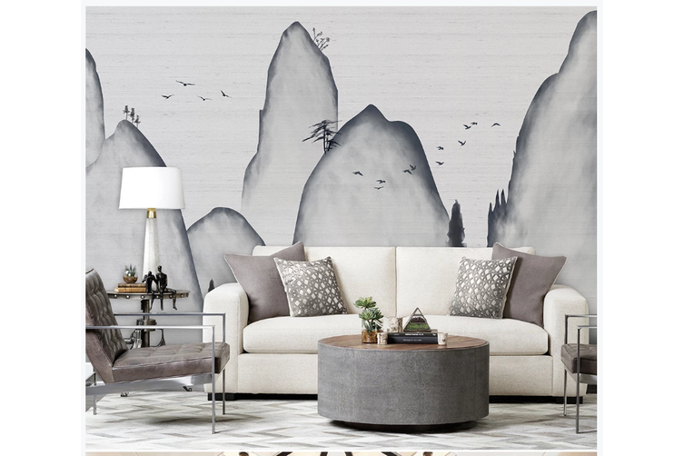3D abstract mountain landscape wall mural Wallpaper 183 Premium Non-Woven Paper-W: 525cm X H: 295cm