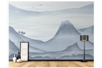 3D abstract mountain landscape wall mural Wallpaper 182 Premium Non-Woven Paper-W: 525cm X H: 295cm