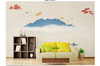 3D abstract ink mountain wall mural Wallpaper 178 Premium Non-Woven Paper-W: 210cm X H: 146cm
