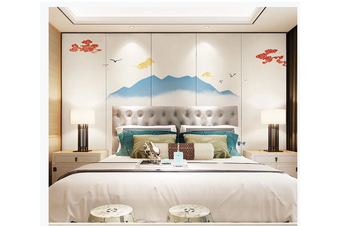 3D abstract ink mountain wall mural Wallpaper 178 Premium Non-Woven Paper-W: 420cm X H: 260cm