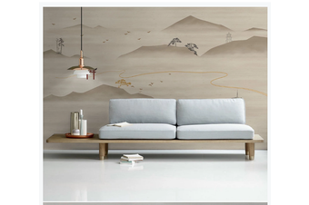 3D retro chinese ink mountain wall mural Wallpaper 176 Premium Non-Woven Paper-W: 210cm X H: 146cm