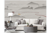 3D retro chinese ink mountain wall mural Wallpaper 176 Premium Non-Woven Paper-W: 420cm X H: 260cm