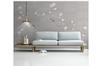 3D hand painting magnolia birds wall mural Wallpaper 175 Premium Non-Woven Paper-W: 320cm X H: 225cm
