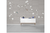 3D hand painting magnolia birds wall mural Wallpaper 175 Premium Non-Woven Paper-W: 525cm X H: 295cm