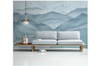3D abstract ink mountain wall mural Wallpaper 174 Premium Non-Woven Paper-W: 210cm X H: 146cm