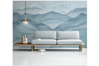 3D abstract ink mountain wall mural Wallpaper 174 Premium Non-Woven Paper-W: 525cm X H: 295cm
