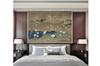 3D white crane plum blossom mountain wall mural Wallpaper 167 Premium Non-Woven Paper-W: 420cm X H: 260cm