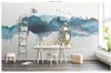 3D abstract mountain wall mural Wallpaper 159 Premium Non-Woven Paper-W: 210cm X H: 146cm