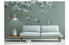 3D hand painting floral birds wall mural Wallpaper 153 Premium Non-Woven Paper-W: 210cm X H: 146cm