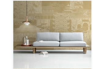 3D hand painting retro building wall mural Wallpaper 151 Premium Non-Woven Paper-W: 320cm X H: 225cm
