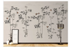 3D hand painting bamboo sparrow wall mural Wallpaper 149 Premium Non-Woven Paper-W: 210cm X H: 146cm