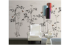 3D hand painting bamboo sparrow wall mural Wallpaper 149 Premium Non-Woven Paper-W: 525cm X H: 295cm