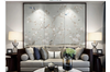 3D hand painting peony wall mural Wallpaper 148 Premium Non-Woven Paper-W: 320cm X H: 225cm