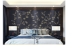 3D hand painting golden bamboo wall mural Wallpaper 146 Premium Non-Woven Paper-W: 525cm X H: 295cm