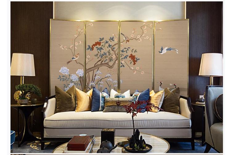3D hand painting plum blossom wall mural Wallpaper 137 Premium Non-Woven Paper-W: 420cm X H: 260cm