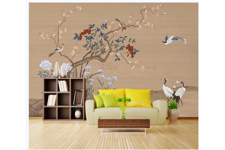 3D hand painting plum blossom wall mural Wallpaper 137 Premium Non-Woven Paper-W: 525cm X H: 295cm