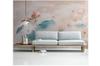 3D ink lotus wall mural Wallpaper 130 Premium Non-Woven Paper-W: 525cm X H: 295cm