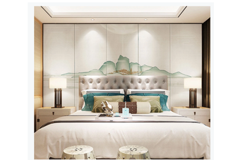 3D abstract chinese ink landscape wall mural Wallpaper 124 Premium Non-Woven Paper-W: 420cm X H: 260cm