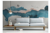 3D abstract chinese ink landscape wall mural Wallpaper 121 Premium Non-Woven Paper-W: 320cm X H: 225cm