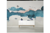 3D abstract chinese ink landscape wall mural Wallpaper 121 Premium Non-Woven Paper-W: 420cm X H: 260cm