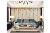 3D hand painting red maple leaves wall mural Wallpaper 119 Premium Non-Woven Paper-W: 320cm X H: 225cm