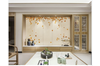 3D hand painting red maple leaves wall mural Wallpaper 119 Premium Non-Woven Paper-W: 420cm X H: 260cm