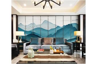 3D chinese ink landscape wall mural Wallpaper 117 Premium Non-Woven Paper-W: 420cm X H: 260cm
