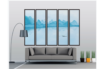 3D chinese ink landscape wall mural Wallpaper 116 Premium Non-Woven Paper-W: 320cm X H: 225cm
