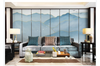 3D chinese ink landscape wall mural Wallpaper 114 Premium Non-Woven Paper-W: 210cm X H: 146cm