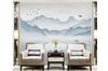 3D chinese ink landscape wall mural Wallpaper 113 Premium Non-Woven Paper-W: 320cm X H: 225cm