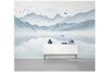 3D chinese ink landscape wall mural Wallpaper 113 Premium Non-Woven Paper-W: 420cm X H: 260cm