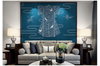 3D chinese crane clouds wall mural Wallpaper 111 Premium Non-Woven Paper-W: 525cm X H: 295cm