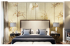 3D hand painting orchid wall mural Wallpaper 109 Premium Non-Woven Paper-W: 420cm X H: 260cm