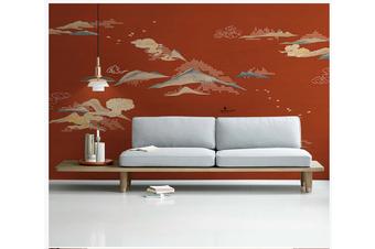 3D chinese ink landscape wall mural Wallpaper 110 Premium Non-Woven Paper-W: 320cm X H: 225cm